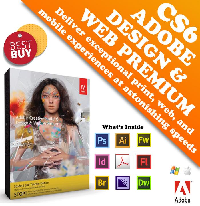 Adobe Cs6 Design And Web Premium Mac Win Pc Nextshop Pk